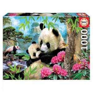 Bear Panda puzzle 1000pcs