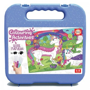 Colouring Activities Unicorn board game 100pz