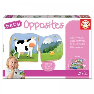 Baby Opposites board game
