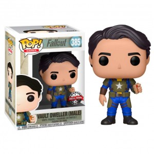 POP figure Fallout Vault Dweller with Mentats Series 2 Exclusive