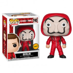 POP figure Money Heist Berlin with Mask Chase