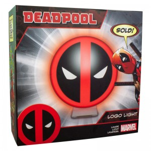 Marvel Deadpool logo light