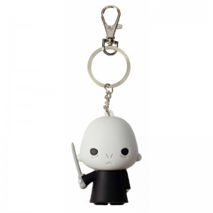 Harry Potter Lord Voldemort rubber keychain