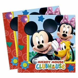 Disney Mickey set 20 napkins