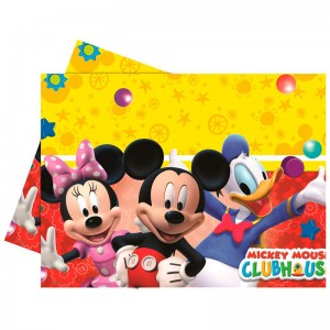 Disney Mickey party tablecloth