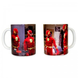The Big Bang Theory Flash costume mug