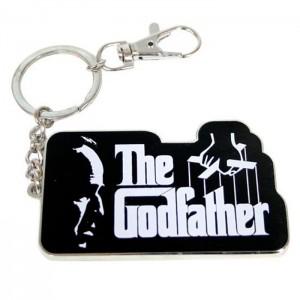 The Godfather logo keychain