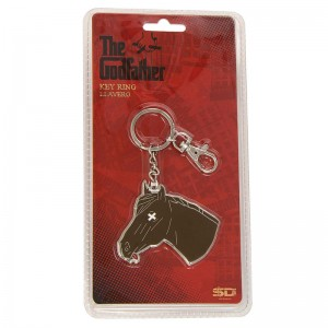 The Godfather horse head keychain