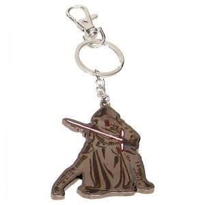 Star Wars Kylo Ren metal keychain
