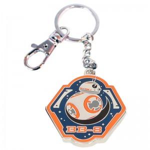 Star Wars BB-8 orange metal keychain