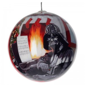 Star Wars Darth Vader piano Christmas Ball
