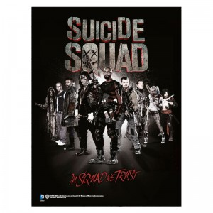 Suicide Squad In Squad glass poster