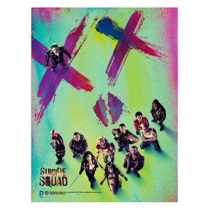 Suicide Squad XX glass poster
