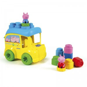 Clemmy Baby Peppa Pig activity bus