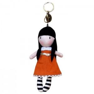 Gorjuss I Gave You My Heart keychain