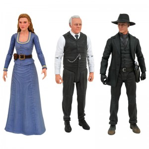 Westworld Select Action figures pack 3