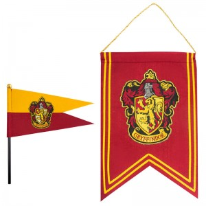 Harry Potter Gryffindor banner and pennant