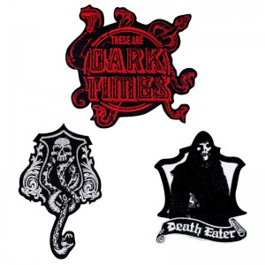 Harry Potter Dark Arts set 3 patches