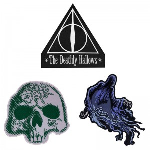 Harry Potter Deathly Hallows set 3 patches
