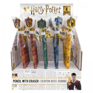 Harry Potter assorted pencil with eraser