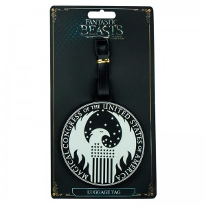 Fantastic Beasts MACUSA baggage tag