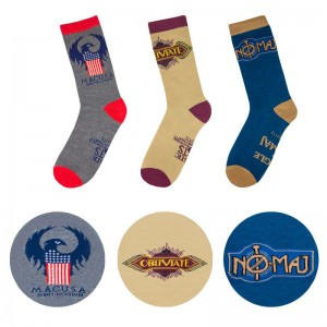Fantastic Beasts MACUSA sock set of 3