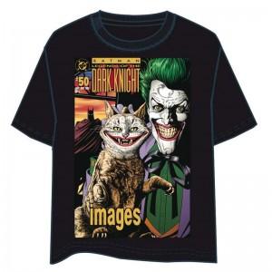 Batman Joker Cat adult tshirt