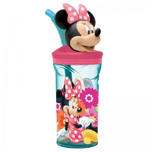 Disney Minnie 3D figurine tumbler