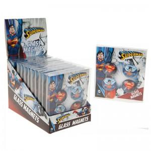 DC Comics Superman glass magnets set