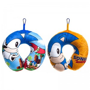 Sonic the Hedgehog assorted neck cushion