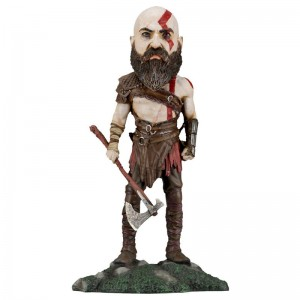 God of War Kratos 2018 headknocket figure