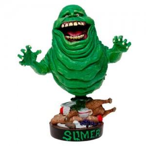 Ghostbusters Slimer headknocker figure