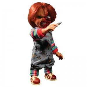 Chucky Talking Pizza Face 37cm with voice
