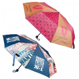 Harry Potter assorted manual folding umbrella 50cm