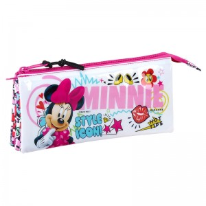 Disney Minnie Cool triple pencil case