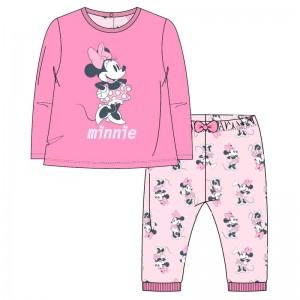 Disney Minnie interlock t-shirt trousers set