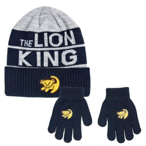 Disney Lion King set hat gloves