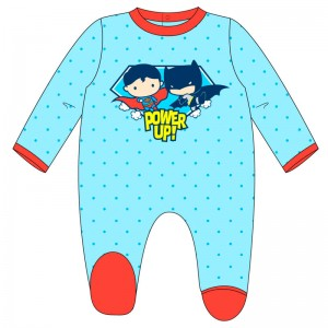DC Comics Justice League velour baby body