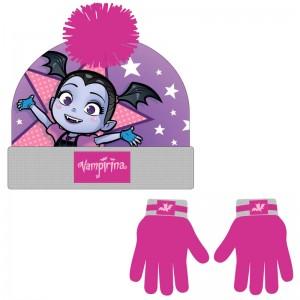 Disney Vampirina set hat gloves