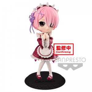 Re Zero Ram Starting Life in Another World Q Posket B figure