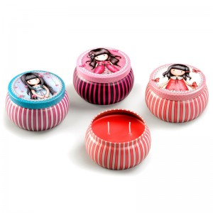 Gorjuss assorted scented candle