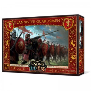 Game of Thrones Lannister Guards board game