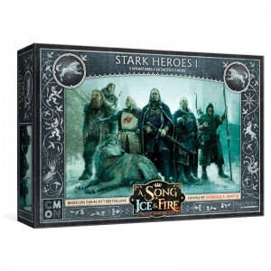 Game of Thrones Stark Heroes I board game