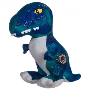 Jurassic World Raptor Blue Dinosaur plush toy 27cm