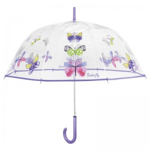 Butterflys dome POE automatic umbrella 61cm