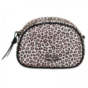 Chic & Love Leopard small Swarovski vanity case