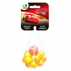 Disney Cars glass marbles bag