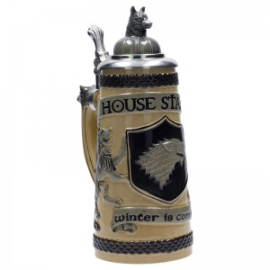 Game of Thrones Bavarian Stark ceramic jar