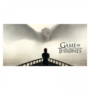 Game of Thrones Tyrion glass poster
