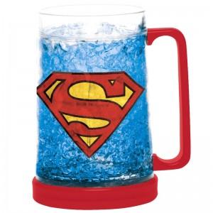 DC Comics Superman ice freezer mug